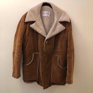 Vintage corduroy Sherpa lined jacket